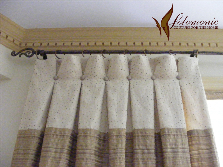 Pleating Styles - Auckland Drape Company Curtains and Blinds
